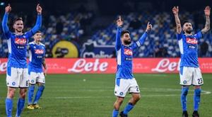 Napoli warm-up for Barcelona with Brescia comeback win. AFP