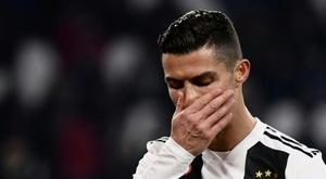 Cristiano Ronaldo não conseguirá o triplete. AFP