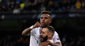 Rivaldo a évoqué la forme de son jeune compatriote Rodrygo. AFP