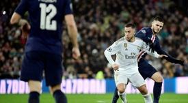 A Bola de Ouro do Real Madrid. AFP
