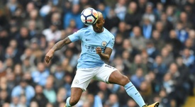 City ready to hear offers for Delph. AFP