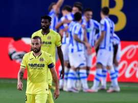 Real Sociedad won 2-1. AFP