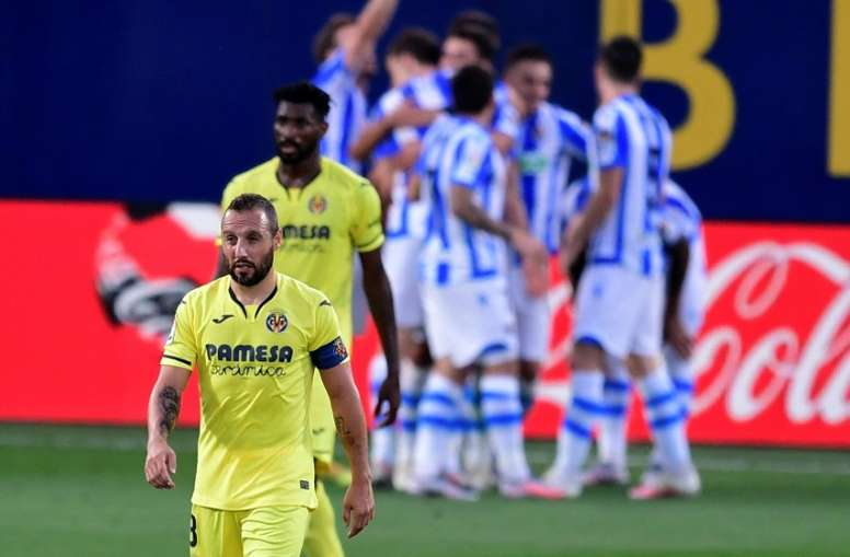 Real Sociedad won 2-1. AFP