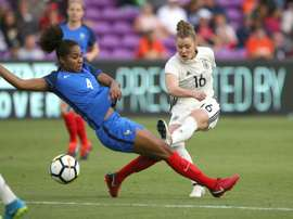 France rout Germany in SheBelieves Cup. AFP