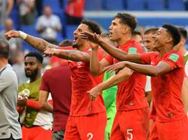 England advanced to only their third World Cup semi-final. AFP