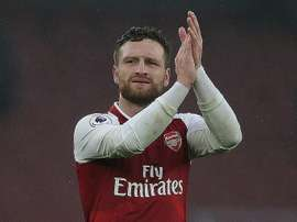 Mustafi could well leave Arsenal for Roma. AFP
