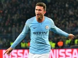 Guardiola has high hopes for Laporte. AFP