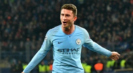 Laporte is unbeaten since joining Manchester City. AFP