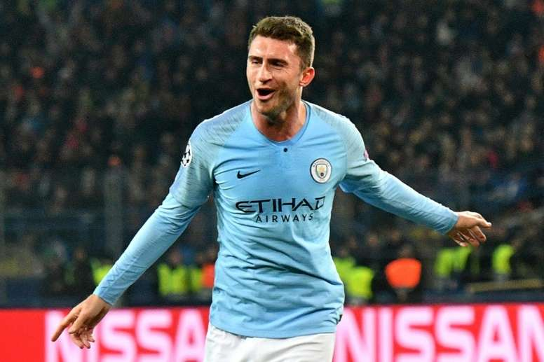 Laporte is keen on revenge in Sunday's derby. AFP