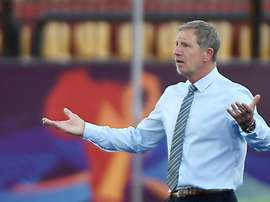 Stuart Baxter insists that South Africa belong at the tournament. AFP