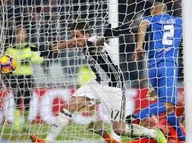 Juventus forward Mario Mandzukic