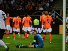 The Netherlands came from behind to beat Germany 4-2 in a thrilling Euro 2020 qualifier. AFP