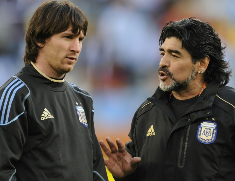 La France pas favorite pour Maradona — CdM
