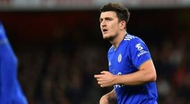Manchester City freine les négociations pour Maguire. AFP