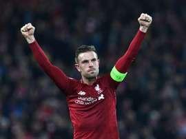 Henderson confessa que esta Champions foi ainda mais especial. AFP