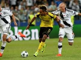 El Legia se llevó la victoria ante Kielce. AFP/Archivo