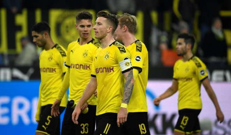 El Borussia sufrió para doblegar al Hertha Berlin. AFP/Archivo
