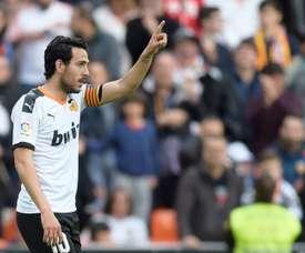 Emery vise deux joueurs de Valence. AFP