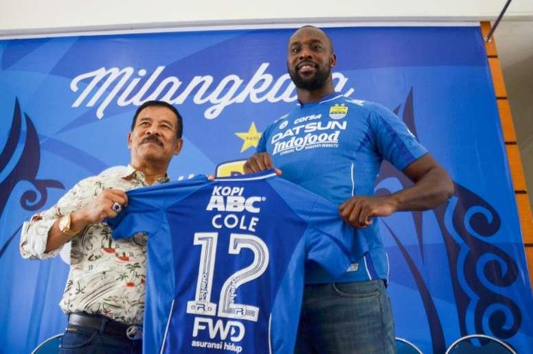 Internacional inglês não agradou aos dirigentes do time indonésio. AFP