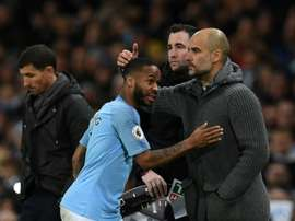 Guardiola recognises Sterling's ability. AFP