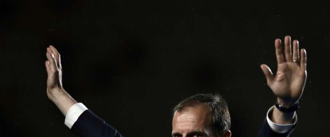 Juventus se despede de Allegri com derrota. AFP