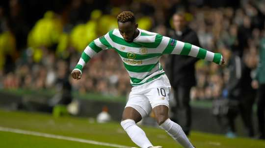 Moussa Dembele will miss the second-qualifying round due to a hamstring injury. AFP