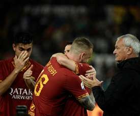 Roma owner thanks Ranieri and De Rossi. AFP
