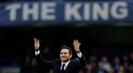 Lampard percevra le même salaire que Sarri. AFP