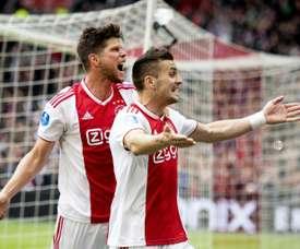 L'Ajax jouera contre le PAOK. AFP