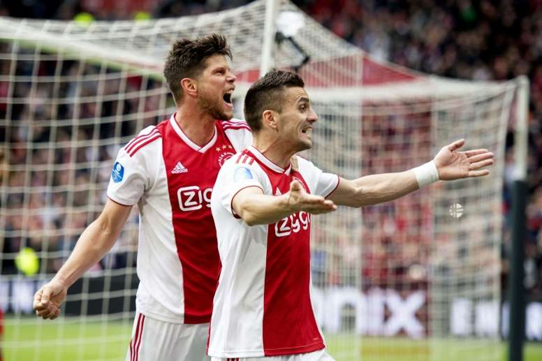 Ajax on the verge of Dutch title after beating Utrecht. AFP