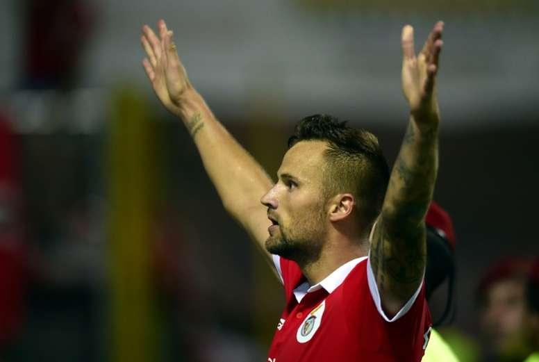 Seferovic volvió a marcar. AFP