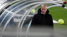 Zidane testé positif au coronavirus. AFP