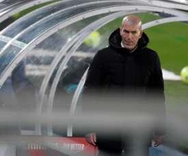 Zidane tests postive for COVID-19. AFP
