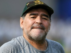 Maradona has moved to Belarus. AFP