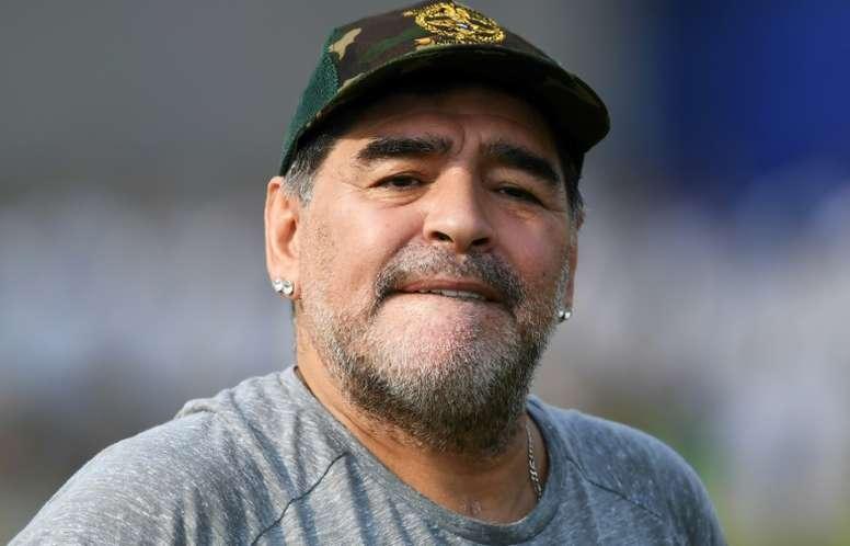 Maradona has moved to Belarus. AFP