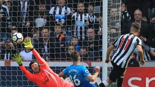 Matt Ritchie scored as Newcastle won in this fixture last season. AFP