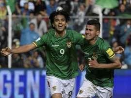 Bolivia venció por la mínima a Nicaragua. AFP
