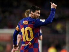 Boost for Setien as Messi leads Barca rout over Leganes. AFP