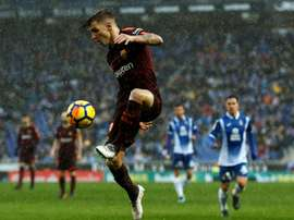 Lucas Digne has been a target for Everton during this summer transfer window. AFP