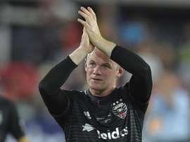 El golazo de Rooney marca el jueves en la MLS. AFP
