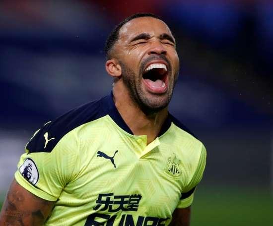 Newcastle won 2-0. AFP