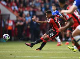 Stanislas scores the only goal of the goal of the game as Koeman suffers his first defeat. AFP