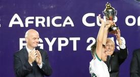 La FIFA quiere una Superliga Africana y la UEFA mira con recelo. AFP