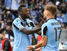 Lazio won 1-0. AFP