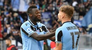 Le formazioni ufficiali di Udinese-Lazio. AFP