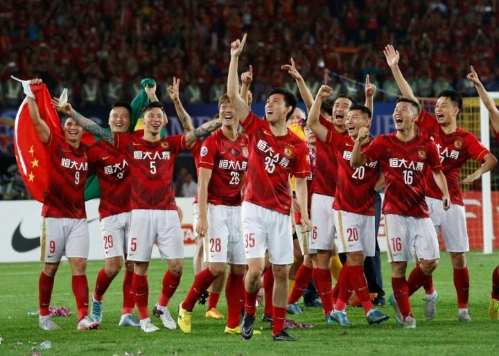 La Champions, el espejo que refleja la caída del fútbol chino. AFP