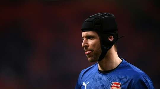 Cech has been inconsistent. AFP