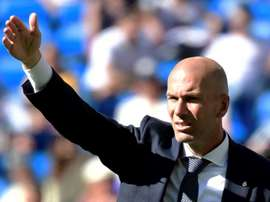 Zidane has not been able to get back to his winning streak. AFP