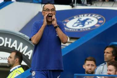 Sarri was happy that his side were able to turn it around to get the win. AFP