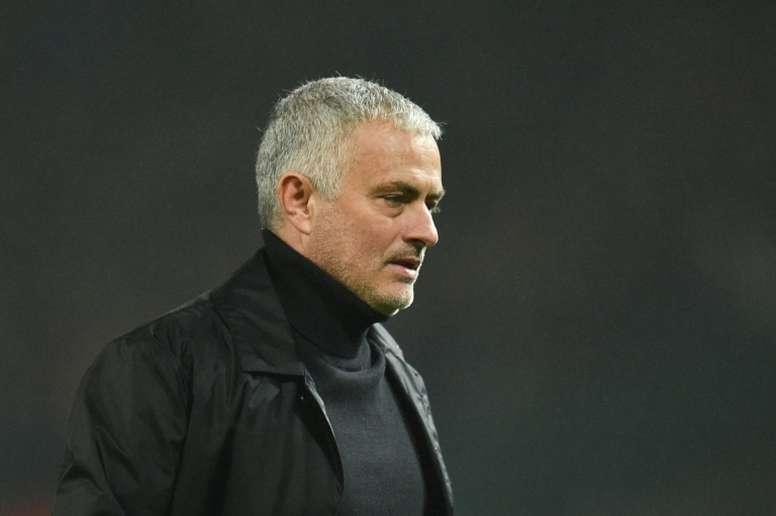 Mourinho ha dejado de ser entrenador del United. AFP